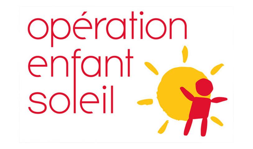 Un don d'Opération Enfant Soleil