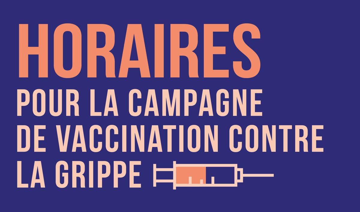 Campagne de vaccination 2019-2020