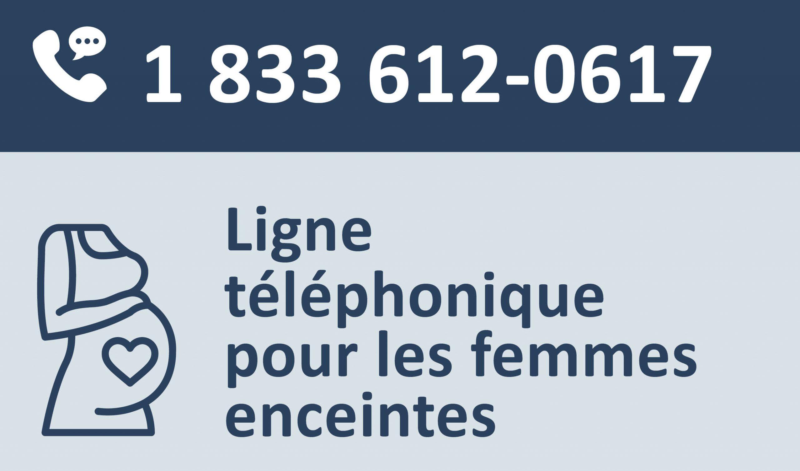 Ligne téléphonique d'information pour les femmes enceintes
