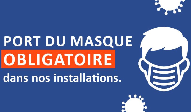 Port du masque obligatoire dans les installations du CIUSSS