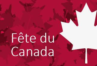 Vendredi 3 juillet: certains services fermés ou réduits en raison du congé férié de la Fête du Canada