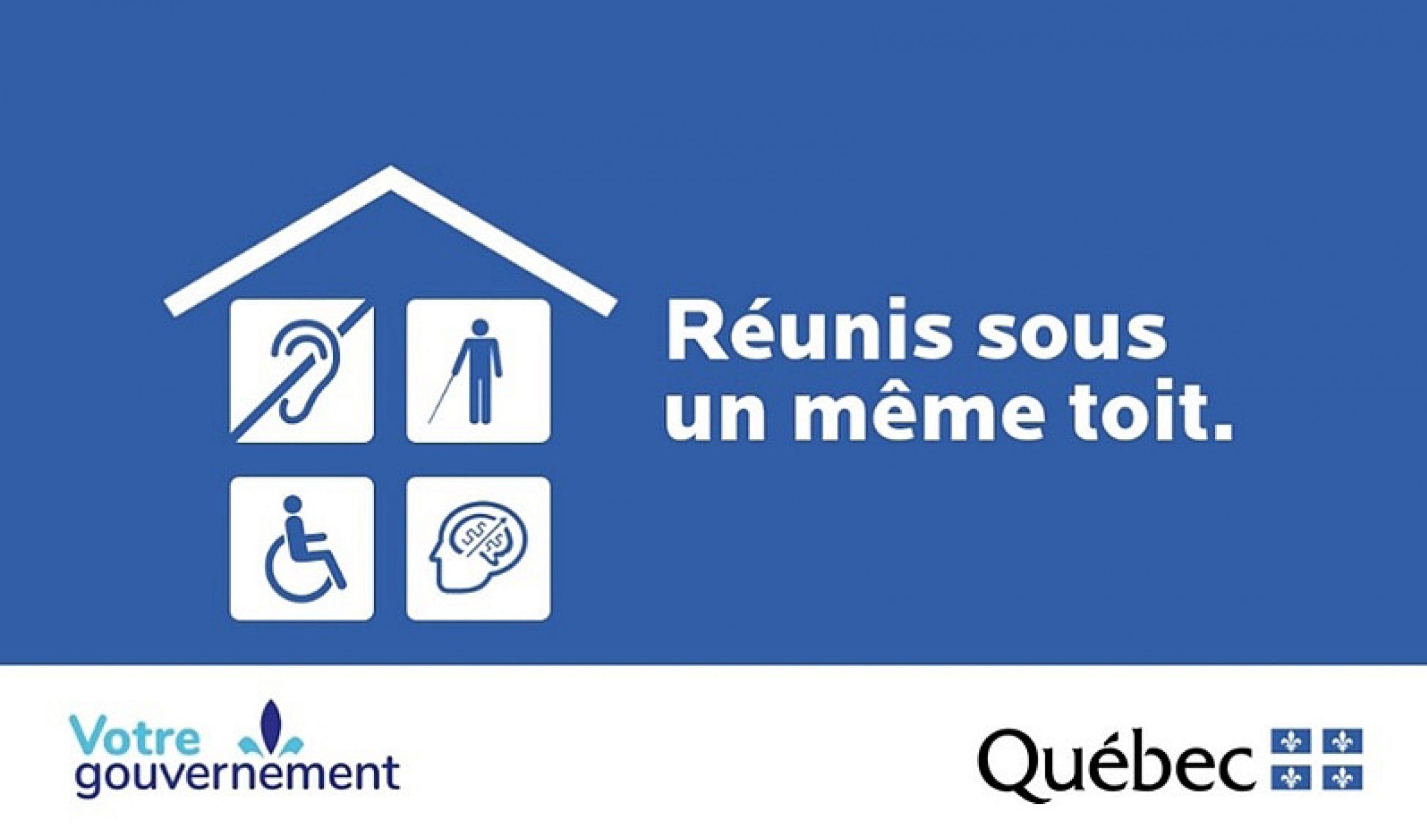 Les programmes et services destinés aux personnes handicapées maintenant réunis sur Québec.ca